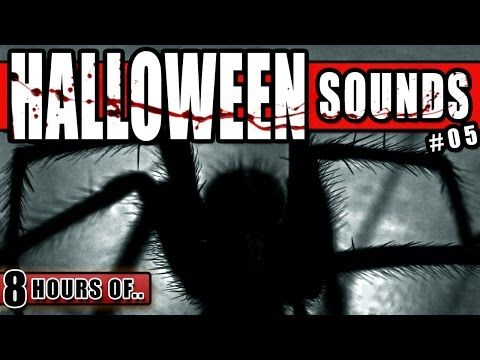 HALLOWEEN SOUNDS OF HORROR, CREEPY SPOOKY SOUNDS OUTSIDE A PSYCHIATRIC HOSPITAL IN THE NIGHT 8 HOURS - YouTube