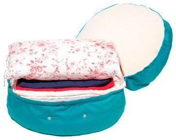Cotton Storage Beanbag contemporary-toy-organizers