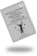 ASSESSMENT AND TREATMENT ACTIVITIES FOR CHILDREN, ADOLESCENTS AND FAMILIES VOL 3:  Highly acclaimed author Liana Lowenstein has compiled an impressive collection of techniques from experienced practitioners. Activities address a range of issues including, Feelings Expression, Social Skills, and Self-Esteem. GET 20% DISCOUNT WITH CODE PC14 at www.lianalowenstein.com   #therapy, #counseling, #play therapy, #family therapy, #anger management, #social skills, #self-esteem