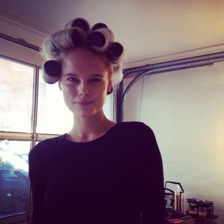 #behindthescene at the Summer 2014 Lookbook shoot wth beautiful Josefine Nielsen