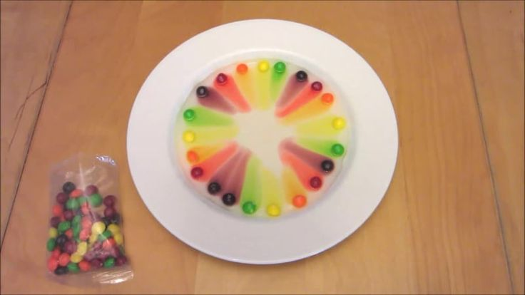 Skittles Science Fair Project - Candy Science