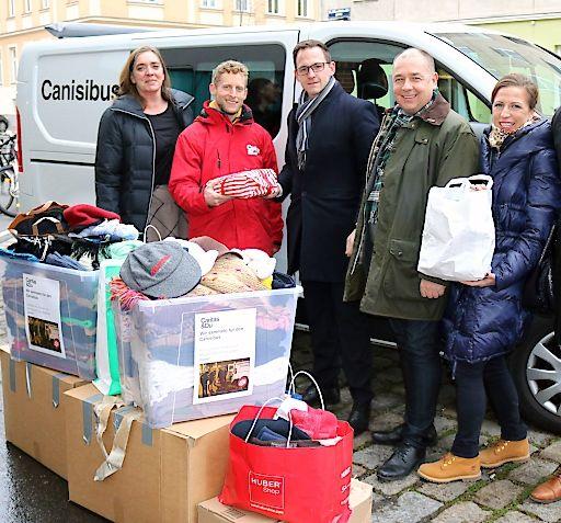 Wirtschaftsbund Wien: Weihnachtsspende für Canisibus