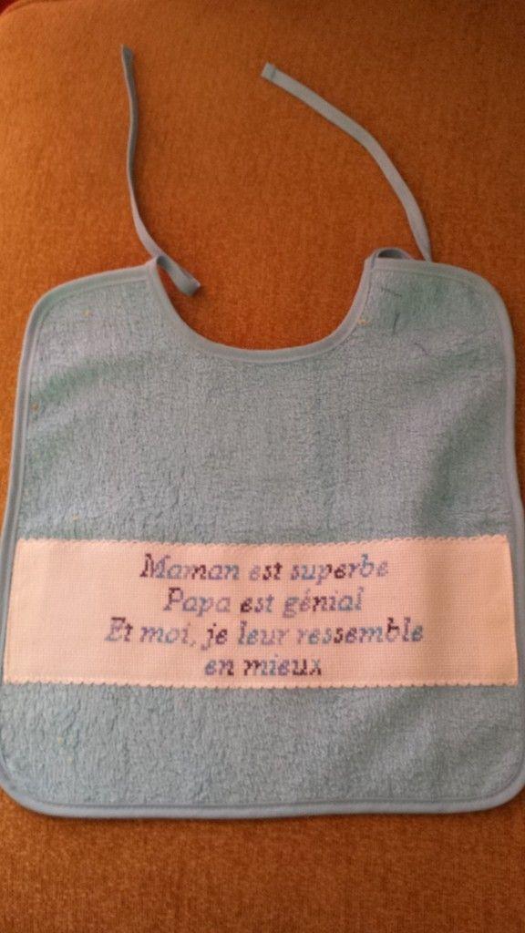 Grille gratuite point de croix : Maman, Papa et Moi                                                                                                                                                      Plus