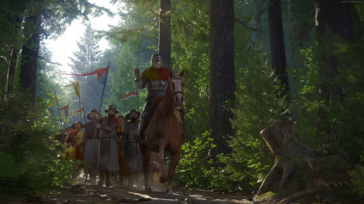 Kingdom Come: Deliverance screenshots are deceivingly peaceful