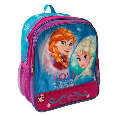 Mochila Escolar Niña Disney Ruz Frozen Anna Y Elsa - $ 375.00 en MercadoLibre