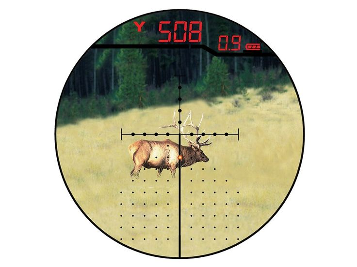 Product detail of Burris Eliminator III Laser Rangefinding Rifle Scope 4-16x 50mm Adjus...