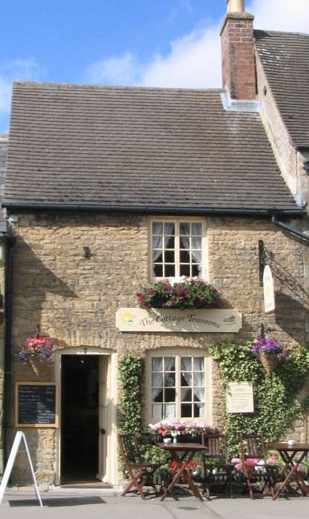 Stock photo of Cottage Tearooms in Bourton on the Water by Judith Hays - Pictures of England