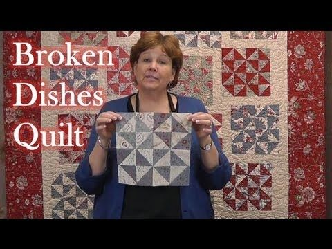 The Broken Dishes Block Is From The 18th Century! Learn How To Make It Here. – Crafty House