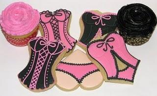 Lingerie showerShower Ideas, Lingerie Parties, Bachelorette Parties, Wedding Showers, Parties Ideas, Bridal Shower, Lingerie Shower, Shower Cookies, Lingerie Cookies