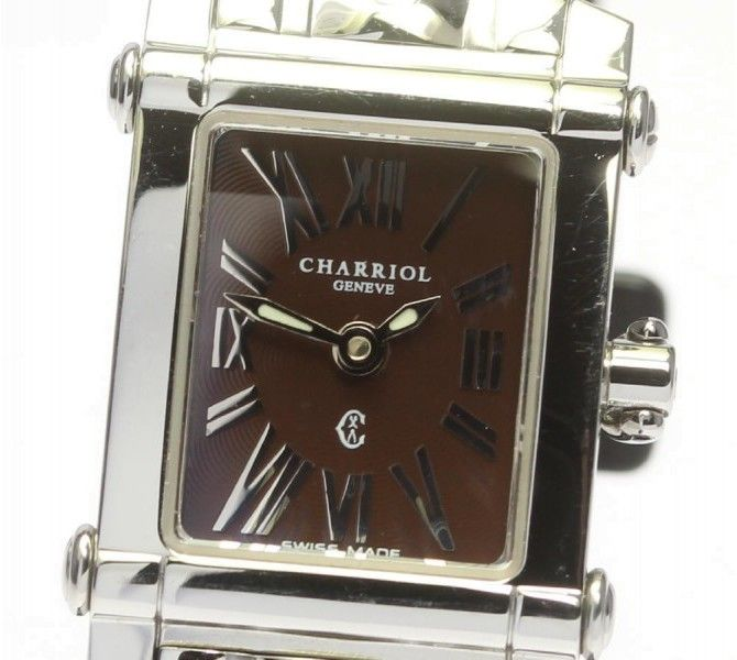 Philippe Charriol Colvmbvs CCSTRD2 Stainless Steel Quartz 18mm Womens Watch