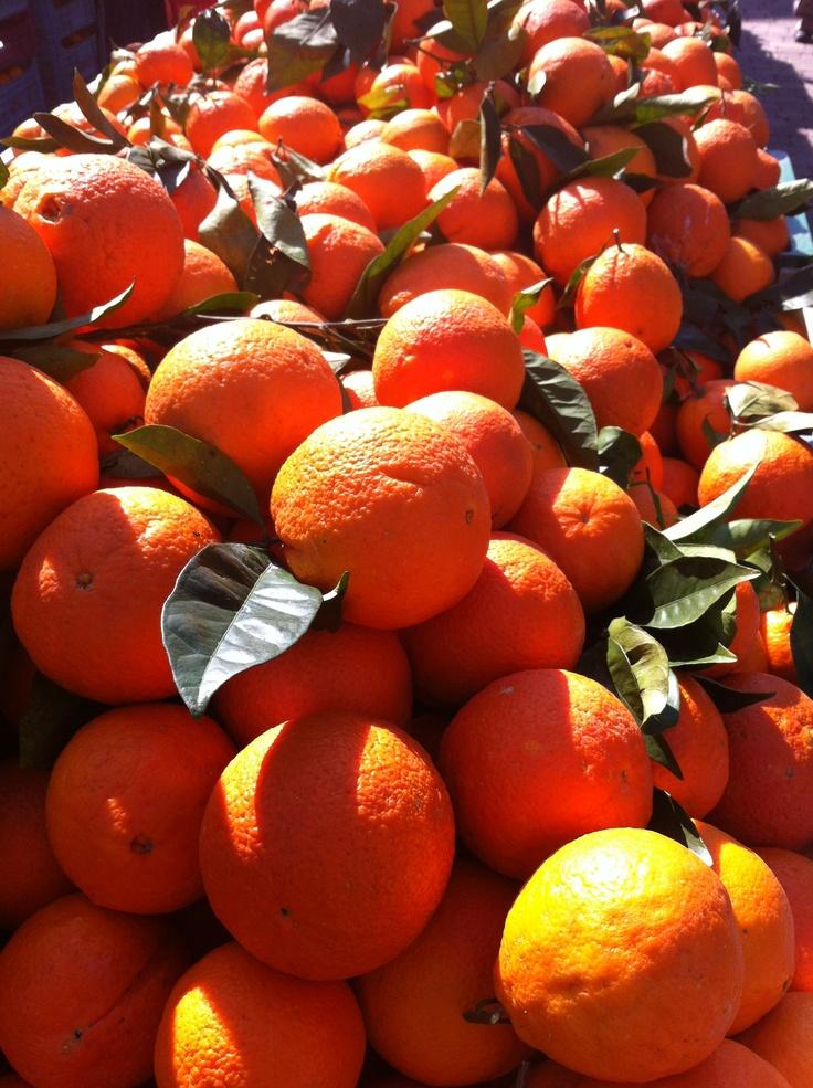 Oranges @ Alcudia Market, Mallorca (Spain)