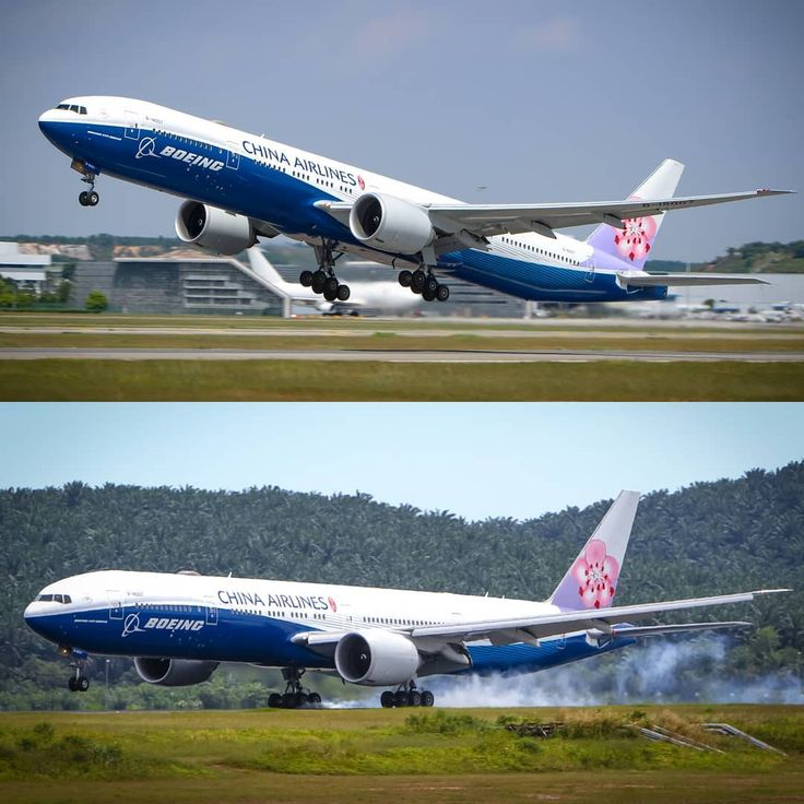 """Anwar Nwar di Instagram """"The mighty China Airlines Boeing ..."""