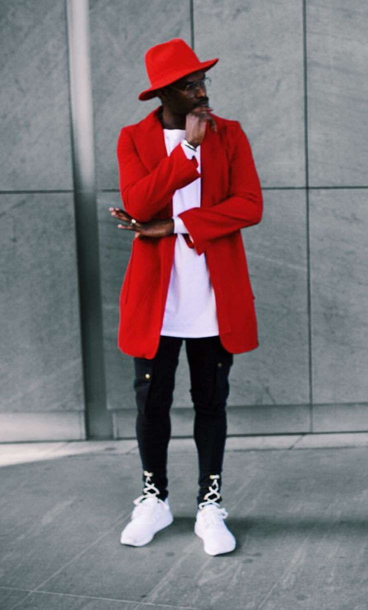 Red (oualychamps): Champaris | Men's Street Style