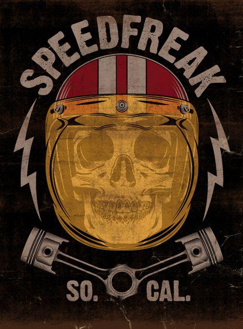 SPEED FREAK - LA MARCA DEL DIABLO by Maleficio Rodriguez, via Behance