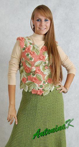 Woolen flowers | Flickr - Photo Sharing!