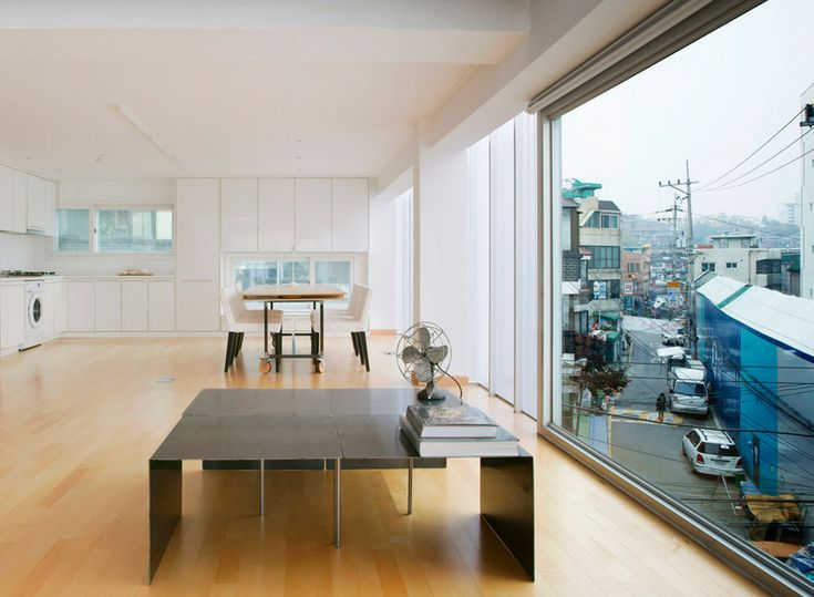 'y-house' by wise architecture, seoul, korea (interior)