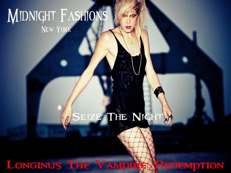 Seize the night.   #vampires #demons #horror