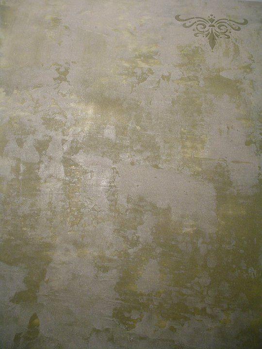 Wallfinishes textures fauxfinesse walls - Peinture metallisee murale ...
