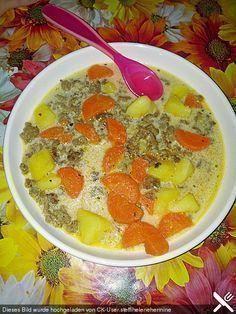 Kartoffel-Hackfleisch-Topf mit Schmand und Möhren, ein sehr leckeres Rezept aus der Kategorie Kochen. Bewertungen: 29. Durchschnitt: Ø 4,5.
