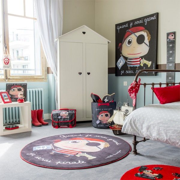 les 25 meilleures id es de la cat gorie chambre pirate. Black Bedroom Furniture Sets. Home Design Ideas