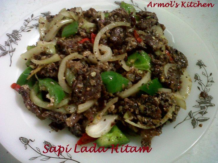 Sapi Lada Hitam  Yuk simak resepnya http://aneka-resep-masakan-online.blogspot.co.id/2015/03/resep-cara-membuat-sapi-lada-hitam.html
