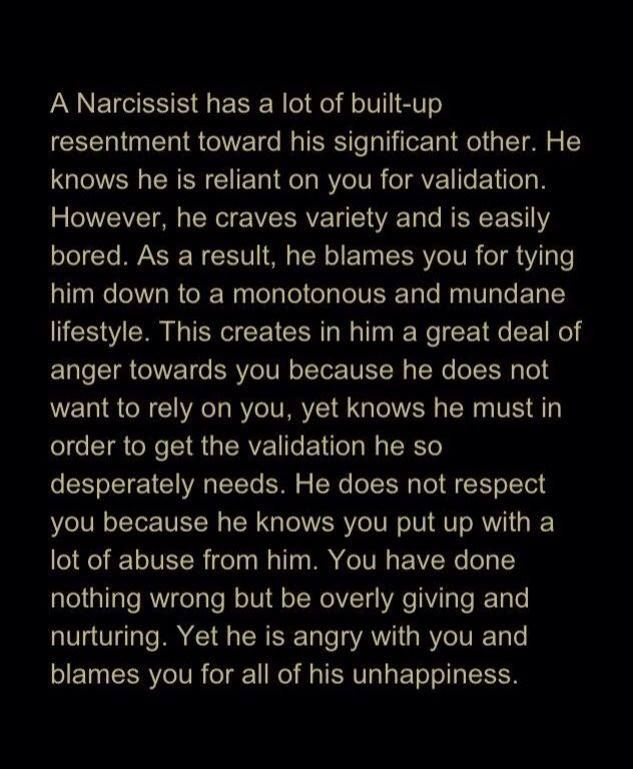 Dating after a narcissist