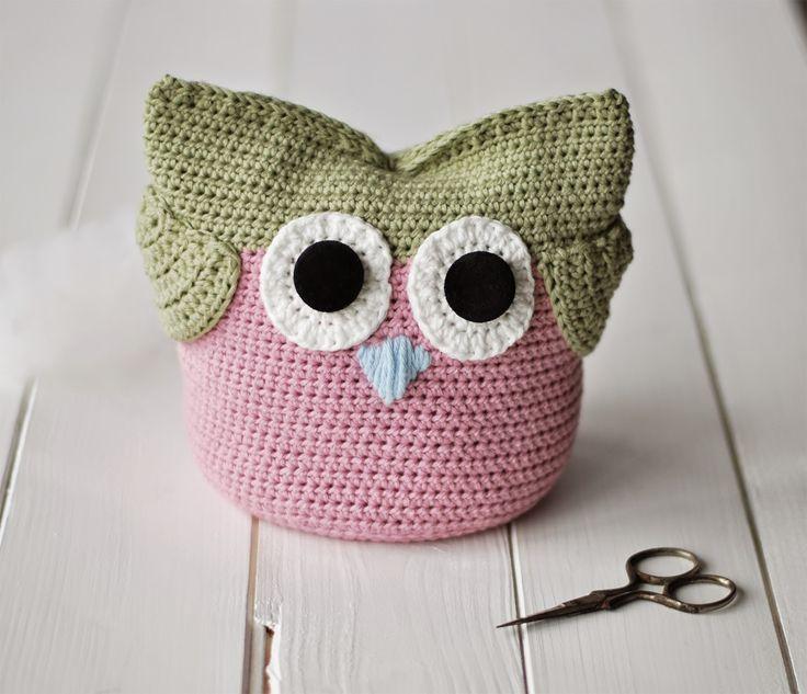 Crocheted Owl by Zuzana Obert