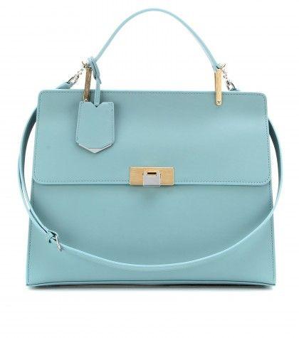 Balenciaga Le dix soft mini cartable bleu azur #handbag #shoulderbag