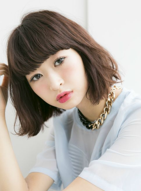 オシャレ厚めバング 重めボブ2014 【Ramie】http://beautynavi.woman.excite.co.jp/salon/27006?pint ≪ #bobhair #bobstyle #bobhairstyle #hairstyle・ボブ・ヘアスタイル・髪型・髪形 ≫