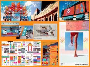 1984 Look dos Jogos Jogos Olímpicos de Verão Los Angeles-1984