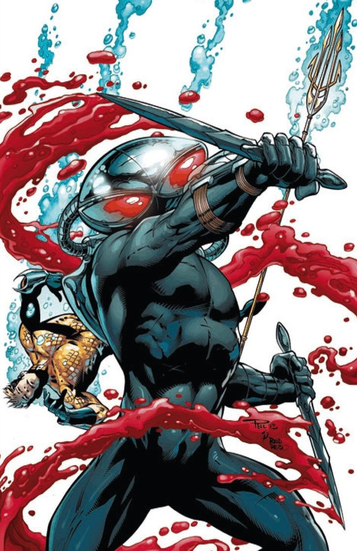 A lot of my villains I forgive because they have reasons. I will never forgive black manta. He's not even done the worst of crimes. But the WAY he does them....