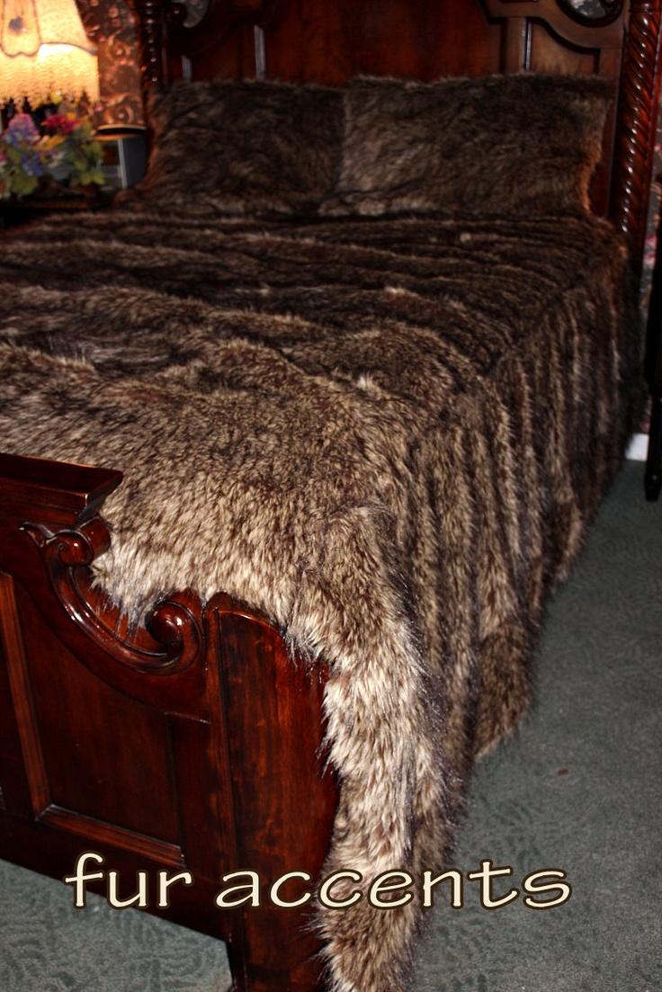 park fauxfur grey set cs zurimarselle comforter fur faux madison ebay zuri itm mp
