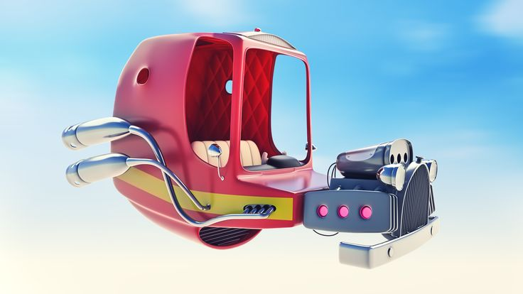 Space car | Freelancers 3D