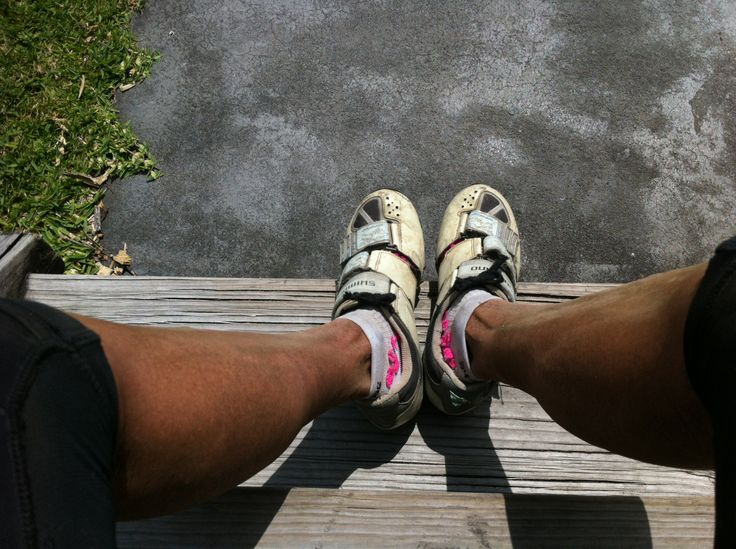MTB legs after 100kms of racing on a Single Speed. Dirty. :)
