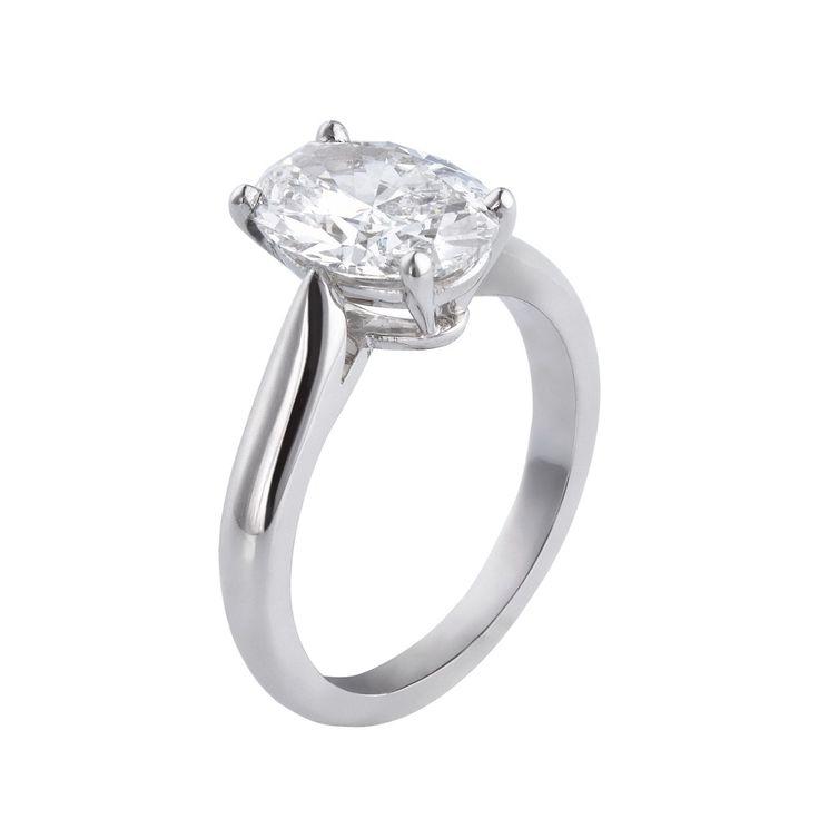 1895 solitaire diamond platinum ring, price upon request, Cartier