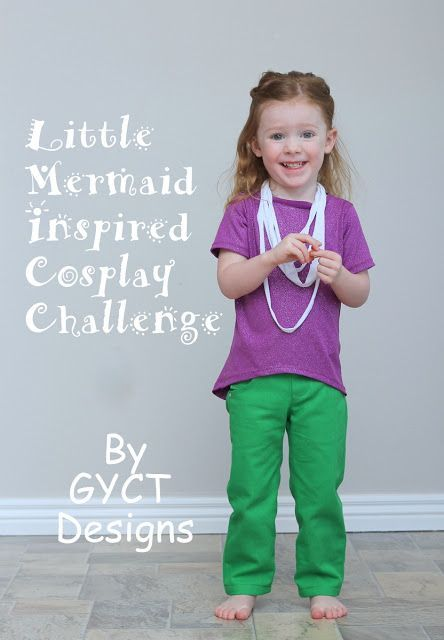 f99ce54500 PRP  Little Mermaid Inspired Cosplay Challenge