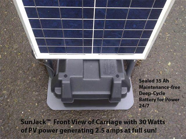 Sunjack Rugged Portable Solar Power For All Terrains By Toby Kinkaid Kickstarter In 2020 Portable Solar Power Solar Power Solar