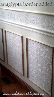 all about anaglypta and use in wainscoting