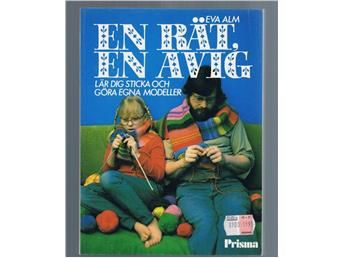 En avig, en rät: lär dig sticka - grundkurs / Eva Alm på Tradera.com -