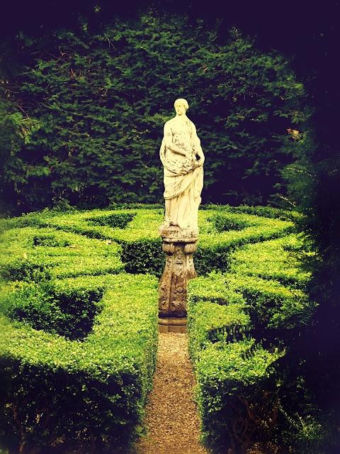 Statue, French Formal Garden. Tim Irving