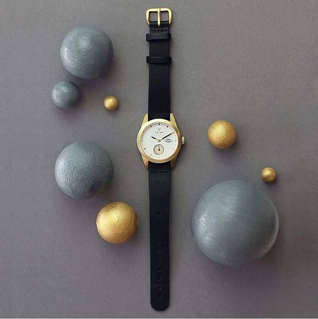 @Triwa Ivory Aska, designed to be neat & discrete on your wrist. Expressed…