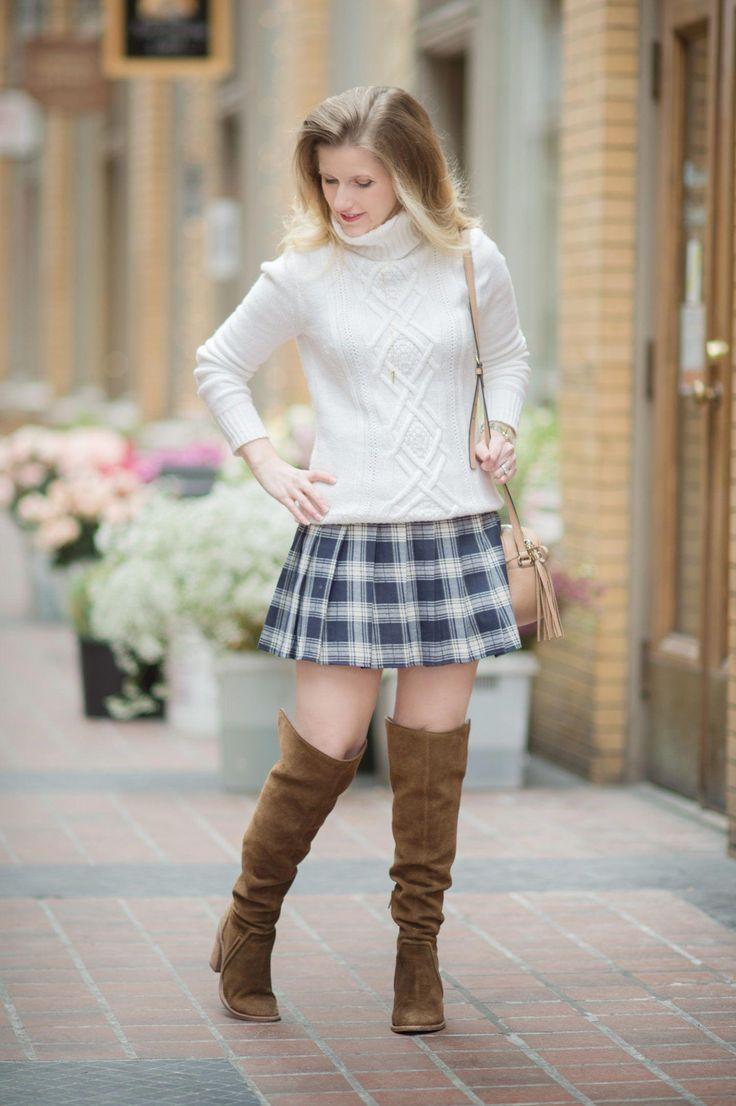 Petite Fashion and Style Blog | Fashion for Petite Women | J. Crew Cambridge Cable Crewneck Sweater #WomensFashionEdgy