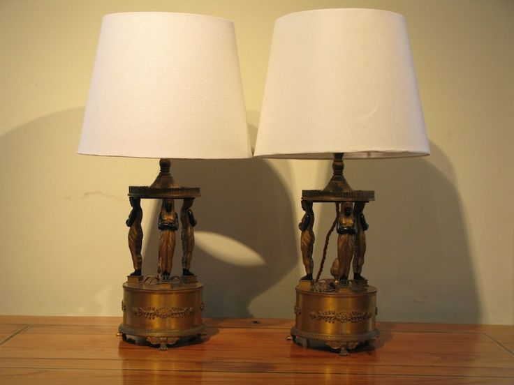 212 best antique lighting images on pinterest antique lighting a fine pair of late 19th century french table lamps in the empire taste with keyboard keysfo Images