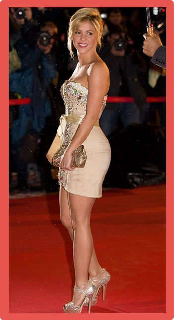 Shakira Height, Workout Routine and Body Measurements