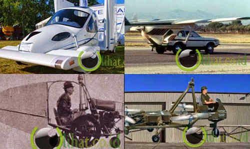 5 Mobil Terbang Unik dan Aneh yang pernah di Buat Manusia di Dunia