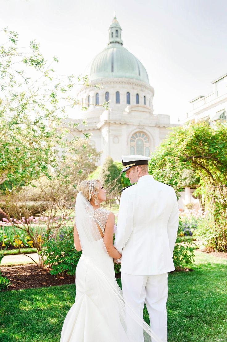 Naval Academy #wedding Photography: www.jenniferleephotographee.com/  Read More: http://www.stylemepretty.com/2014/09/08/annapolis-naval-academy-wedding/