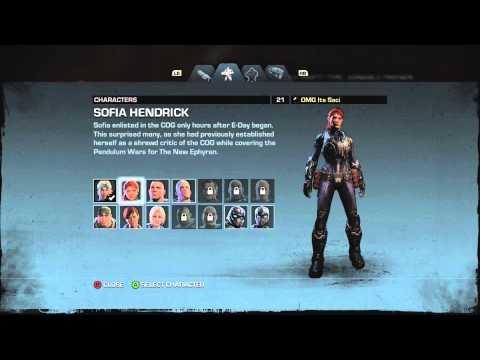 Saci Gamer #2 - Gears of War Judgment - Customizações - GOW