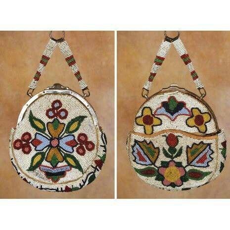 Sioux purse 19th century