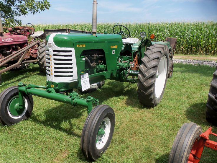 880 Ford Tractors : Oliver super tractors equipment