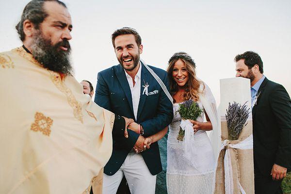 http://www.love4wed.com/bohemian-wedding-with-lavender/ #weddingsingreece  #antiparos #bohemianweddings #weddingswithlavender